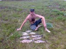 Artur z Wojtkiem na Kozielnie - sierpień 2007