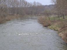 Widok Nysy Kłodzkiej - wiosna 2007