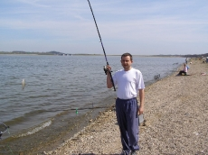 Mały leszczyk na spławik. Jezioro Topola.