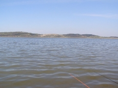 Wiosna 2007 Topola. Zdjęcie jeziora.