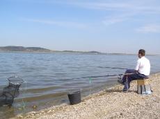 Wiosna 2007 Topola Widok na jezioro.