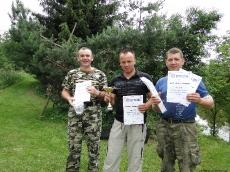 Zawody wędkarskie na Kolonii Gaj 2011
